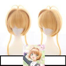 Card Captor Sakura CLEAR CARD Kinomoto Sakura Cosplay Hair Wig Anime