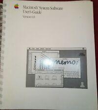 Apple Macintosh System Software User Guide  version 6.0 68000