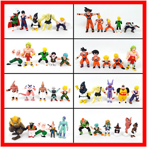 Dragon Ball Z Mini Figures Vintage 1980s PVC 41x Toy Bundle Mixed Lot by BANDAI