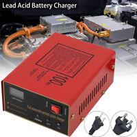 Chargeur de Batterie pour Voiture Auto Moto 12V/24V 10A LED Intelligent EU Plug