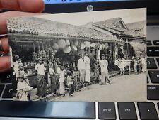 More details for ceylon sri lanka  native shops  postcard art deco  era