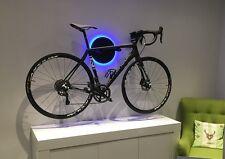 Clipboart ® + LED  Karbon Wandhalterung Wandhalter Rennrad Triathlon Bike Fixie
