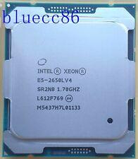 Intel Xeon E5-2650L V4 QS 1.7GHz  Fourteen 14-Core LGA 2011-3 CPU Processor