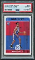 Markelle Fultz 2017-18 Hoops #251 RC (PSA-10)-Free Shipping
