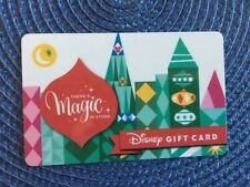 Disney There's Magic gift card collectible only -no $ value or points on it