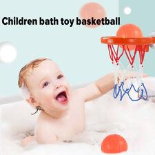 Kinder Badespielzeug Basketballkorb +3 Bälle Badewanne Wasserspielset für Baby