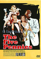 The Five Pennies (1959) - Danny Kaye,Barbara Bel Geddes,Louis Armstrong- DVD NEW