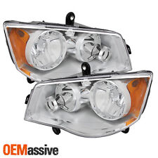 Fit 08-16 Town & Country | 11-19 Dodge Grand Caravan Left + Right Side Headlight