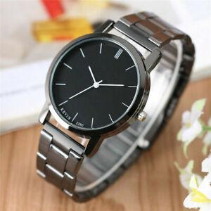 KEVIN Minimalist Stainless Steel Strap Women Men Quartz Wrist Watch Special Gift