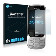 6x Savvies Screen Protector for Nokia 6303i classic Ultra Clear