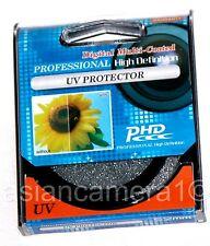 UV Safety Protector Lens Filter For Sigma 120-300mm Lens Coated Glass US Seller