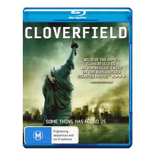 Cloverfield Blu Ray Brand New Aust. Region B  - Free Post - Lizzy Caplan
