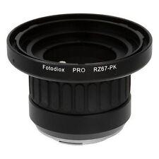 Fotodiox Objektivadapter Pro Mamiya RZ67 Linse für Pentax K (PK) Kamera