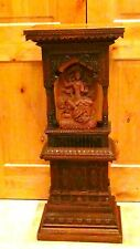 Antique 18c-19c Asia,Chinese Intricate Wood Carved Large Shrine Cabinet,Altar