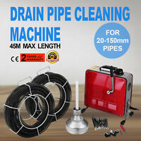 HXCQ-150 390W Electric Drain Cleaner Sewage Cleaning Machine For Ø 20-150mm Pipe