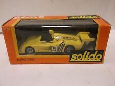 Solido Gam 2 No.57 Alpine Turbo In Yellow 1:43 Scale