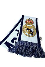 Real Madrid C.F Authentic Official Licensed Product Soccer Scarf - 02-2