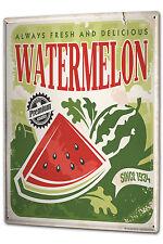 Tin Sign XXL Food Restaurant Watermelon metal plate plaque