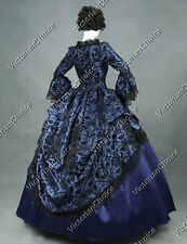 Renaissance Game of Thrones Queen Dress Witch Punk Halloween Costumes N 143 XL