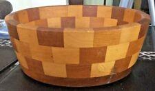 "Vintage Retro Cambridge Ware - Newnham 9.5"" Woodent Fruit Bowl"