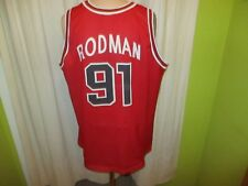 Chicago Bulls Original Champion NBA Authentic Trikot + Nr.91 Rodman Gr.XXL TOP