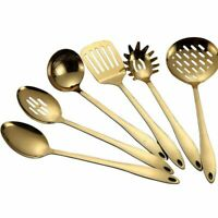 Cooking Tools Spoon Shovel Cookware Kitchen Tools Utensils Spatula Gold Titanium
