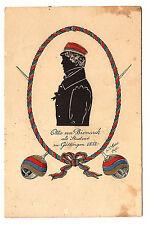 1913 Studentika, Otto von Bismarck als Student zu Göttingen 1832, Scherenschnitt