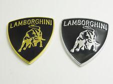 2pcs metal car badge logo /aluminum logo stickers fit for Lamborghini