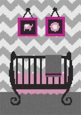 pepita Mauve Collection Random Rectangles Needlepoint Kit