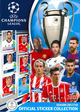 TOPPS-CHAMPIONS-LEAGUE 2017/18 KOMPLETT NEU!! Sticker Lose + LEERALBUM-TOP-NEU!!