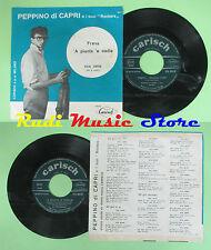 LP 45 7'' PEPPINO DI CAPRI Freva A pianta e stelle 1960 italy CARISCH no cd mc