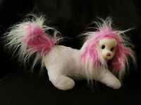 Puppy Surprise White and Pink Glitter Sparkle POPCORN Mom Only Plush