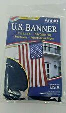 U.S. Banner Flag Annin FLAGMAKERS 21880 2 1/2 ft. x 4 ft. New(E04)