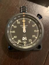 NOS Vintage 1980's Heuer Dashboard Rally Timer MONTE-CARLO Tachy Ref. 542.817