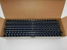 More details for gbc 8mm 14mm 25mm a4 binding combs navy blue quality 45, 125, 225 sheets 80gsm
