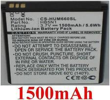 Batterie 1500mAh type BCC1023 HB5N1 Pour Huawei Ascend Y321c