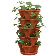 5 Tier 20 Plant Herb Garden Stacking Planters - Medium 33cm - Mr Stacky Aust.