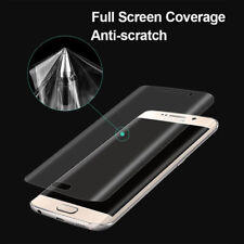 2 x FULL FACE 3D LCD Screen Protector Film Foil Saver For Samsung Galaxy S7 Edge