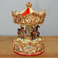Circus Musical Carousel Music Box Ornament Home Decoration