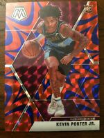 2019-20 Panini Mosaic Kevin Porter Jr. Blue Reactive Prizm RC #248 Cavaliers