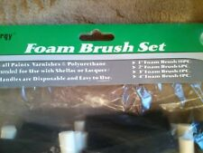 *NEW* MAX ENERGY 24 Piece Foam Brush Set (4 Different Sizes) FREE SHIPPING..!!