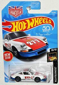 Hot Wheels New for 2018 #115 Nightburnerz #10 '71 Porsche 911 MOC Urban Outlaw