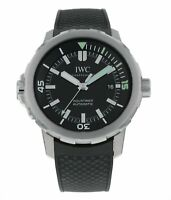 IWC Aquatimer Black Dial Black Rubber Men's 42mm Automatic Watch IW329001