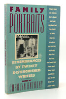 Carolyn Anthony FAMILY PORTRAITS  1st Edition 1st Printing