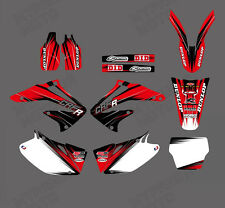 TEAM GRAPHICS BACKGROUNDS DECALS STICKERS FOR HONDA CRF450 CRF450R 2002 03 04 D6