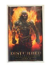 Disturbed Poster Indestructable Burning Man Promo