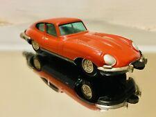 "Vintage Schuco Micro-Racer Jaguar ""E""Type 1047-1 Wind-Up ©️1960's, Red- ORIGINAL"