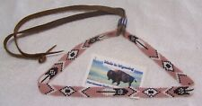 HAND MADE BEADED HAT BAND RENDEZVOUS BLACK POWDER MOUNTAIN MAN 2