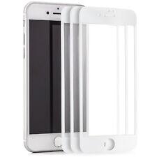 "3x 3D Displayschutz für iPhone 7 4,7"" Hartglas komplett Full Cover Folie 9H"