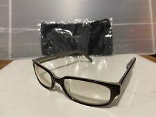 New Calvin Klein CK659S 046 Sunglasses, Black-Bone / Clear with Titanium Mirror